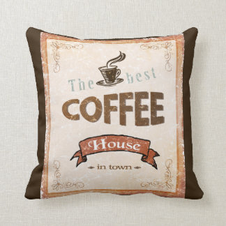 The Best Coffee House Cushion