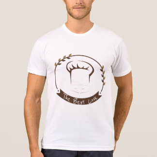 The Best Cook Chef Badge Design Men's T-shirts