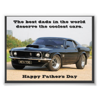 The Best Dads in the World Deserve the Coolest Car Art Photo