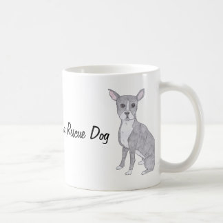 The Best Dog is a Rescue Dog Coffee Mug
