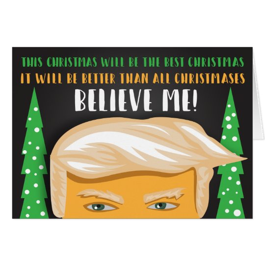The Best Donald Trump Christmas Greeting Card