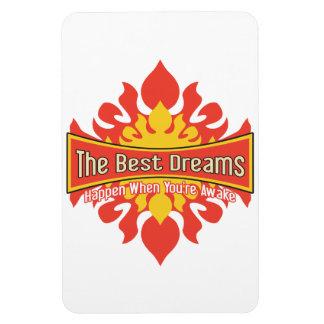 The Best Dreams Vinyl Magnet