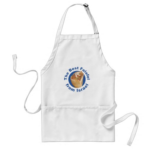 The best falafel from Israel Adult Apron