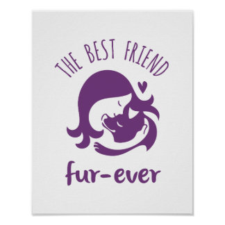 The Best Friend Fur-ever Poster