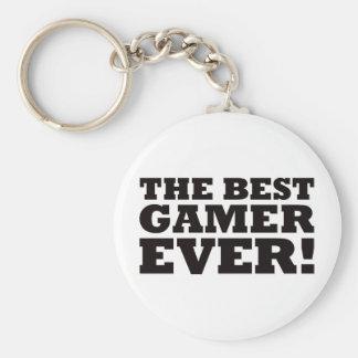The Best Gamer Ever Key Ring
