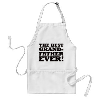 The Best Grandfather Ever Standard Apron