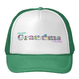 The Best Grandma in the World Cap