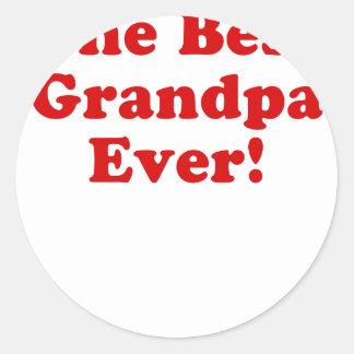 The Best Grandpa Ever Stickers