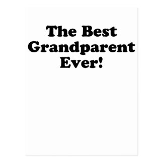 The Best Grandparent Ever Post Card