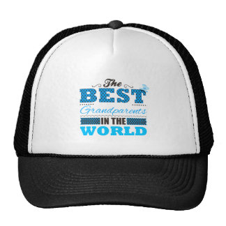 The best grandparents in the world mesh hat