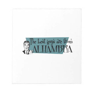 The best guys are from Alhambra Notepads