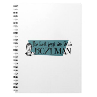 The best guys are from Bozeman Notebooks