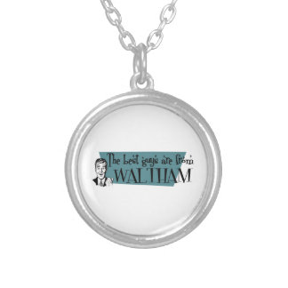 The best guys are from Waltham Round Pendant Necklace