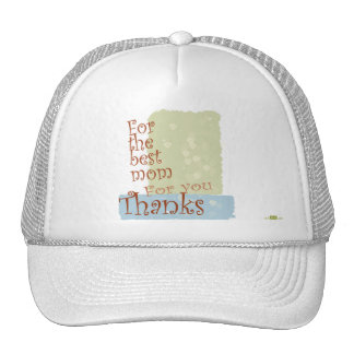 The best Mom. Hat