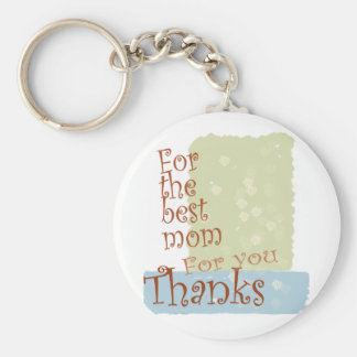 The best Mom. Keychain