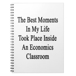 The Best Moments In My Life Took Place Inside An E Spiral Note Books