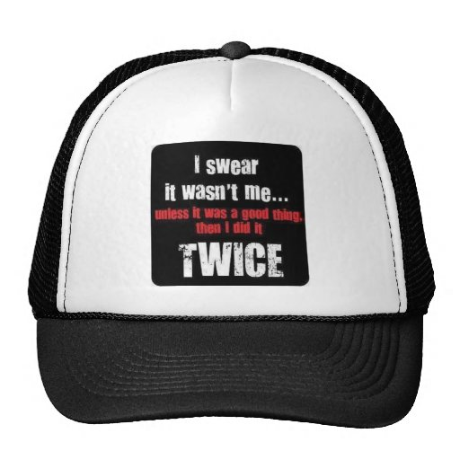 The Best Motto Ever Mesh Hats