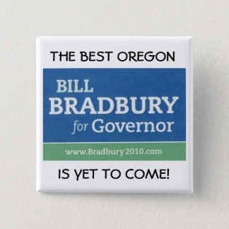 THE BEST OREGON, IS YET TO COME! 15 CM SQUARE BADGE