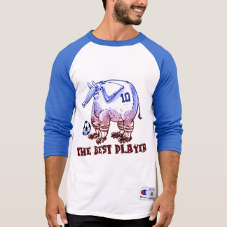 the best player elephant cartoon T-Shirt