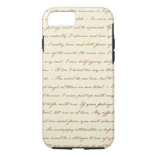 The Best Quotes from Jane Austen iPhone 8/7 Case