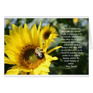 The best remedy...jpg greeting card