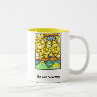 The Best Secretary Two-Tone Mug