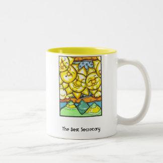 The Best Secretary Two-Tone Mug
