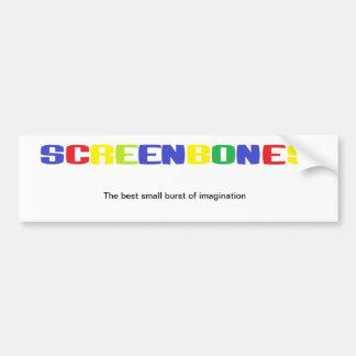 The best small burst of imagination BUMPER Bumper Sticker