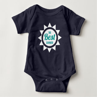 The Best Summer. Baby Bodysuit