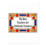 The Best Teachers Are 3rd Grade Teachers Postcards
