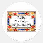 The Best Teachers Are 3rd Grade Teachers Stickers