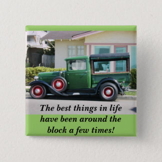 The best things in lifehave been around thebloc... 15 cm square badge