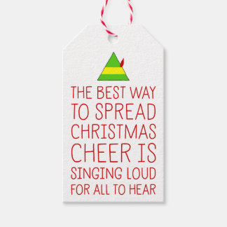 The Best Way To Spread Christmas Cheer Gift Tags