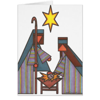 The Bethlehem Star Card