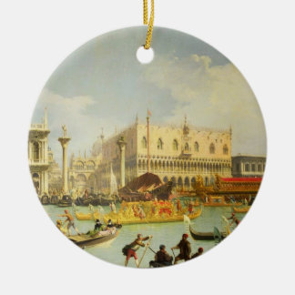 The Betrothal of the Venetian Doge Christmas Ornament