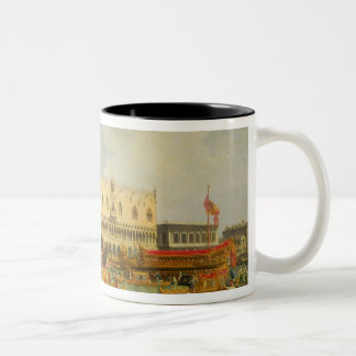 The Betrothal of the Venetian Doge to Adriatic Two-Tone Mug