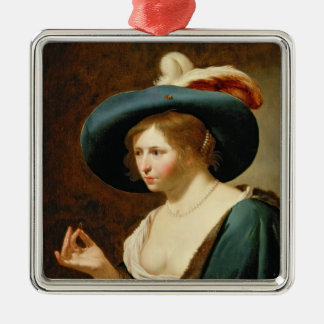 The Betrothal: The Bride, c.1630 Christmas Ornament