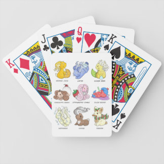The Beverage Bunnies Bicycle Playing Cards