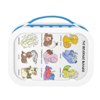 The Beverage Bunnies Lunch Box