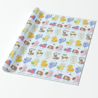 The Beverage Bunnies Wrapping Paper