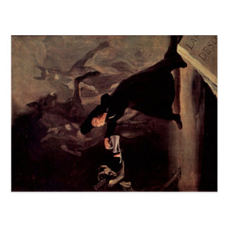 The Bewitched Man by Francisco Goya 1798 Postcard