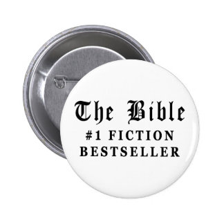 The Bible Fiction Bestseller 6 Cm Round Badge