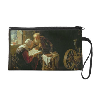 The Bible Lesson, or Anne and Tobias (oil on panel Wristlet