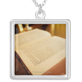 The Bible Silver Plated Necklace