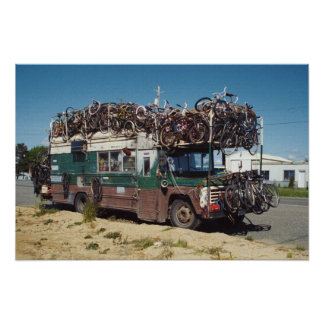 The Bicycle Bus Posters