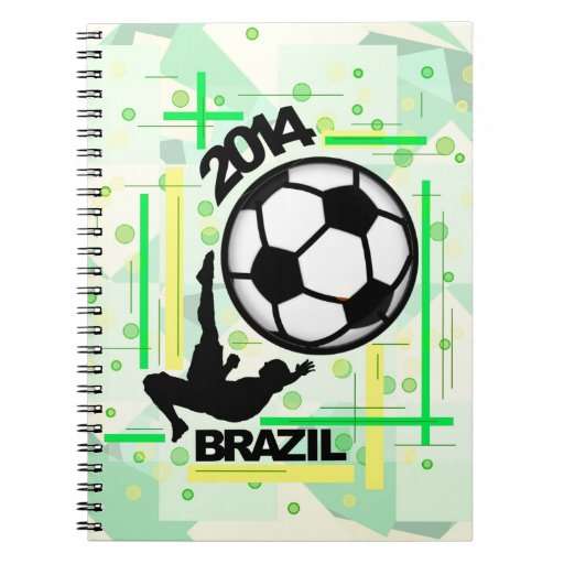 The Bicycle Kick. Spiral Note Books
