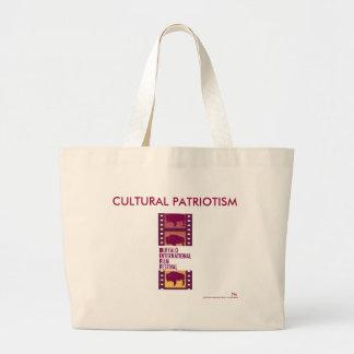 The BIFF Bag: Cultural Patriotism Jumbo Tote Bag