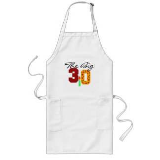The Big 3-0 Long Apron