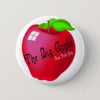 The Big Apple 6 Cm Round Badge