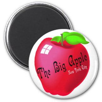 The Big Apple 6 Cm Round Magnet